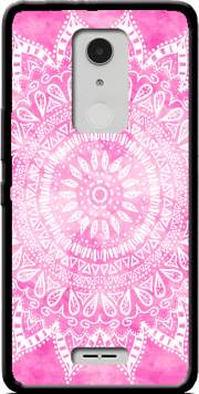 Pink Bohemian Boho Mandala Case for Alcatel A3 XL