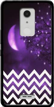 Purple moon chevron Case for Alcatel A3 XL