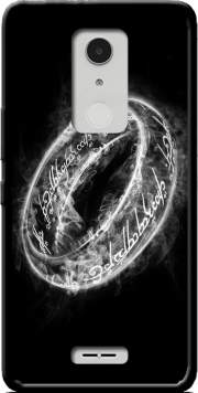 Ring Smoke Case for Alcatel A3 XL