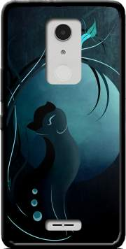 Sensual Cat in the Moonlight  Case for Alcatel A3 XL