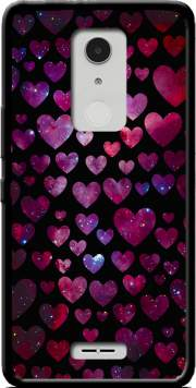 Space Hearts Case for Alcatel A3 XL