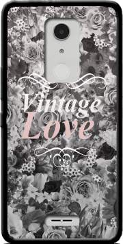 Vintage love in black and white Case for Alcatel A3 XL