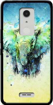 watercolor elephant Case for Alcatel A3 XL