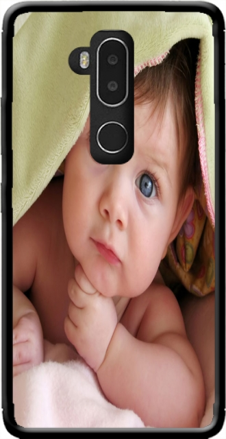 Silicone Alcatel A7 XL 7071D with pictures baby