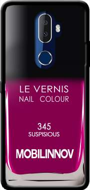 Nail Polish 345 SUSPISIOUS Case for Alcatel 3V