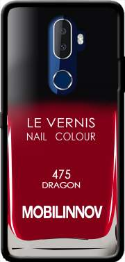 Nail Polish 475 DRAGON Case for Alcatel 3V