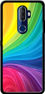 Rainbow Abstract Case for Alcatel 3V