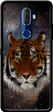 Abstract Tiger Case for Alcatel 3V