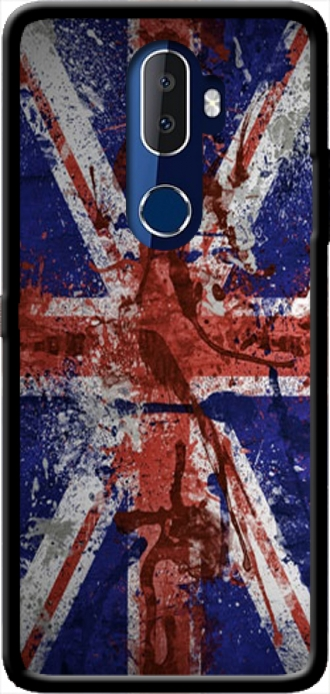 Silicone Alcatel 3V with pictures flag