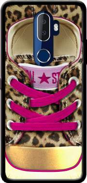 All Star leopard Case for Alcatel 3V