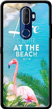 At the beach Case for Alcatel 3V