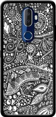 Aztec B&W (Handmade) Case for Alcatel 3V
