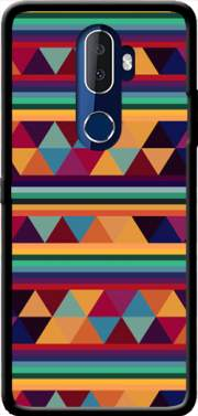 Aztec Pattern Pastel Case for Alcatel 3V