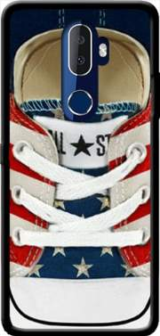 All Star Basket shoes USA Case for Alcatel 3V