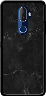 Black Marble Alcatel 3V Case