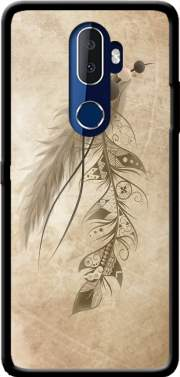 Boho Feather Case for Alcatel 3V