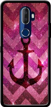 Anchor Chevron Red Case for Alcatel 3V