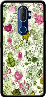 doodle flowers Case for Alcatel 3V