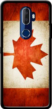 Canadian Flag Vintage Case for Alcatel 3V