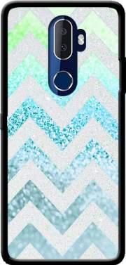 FUNKY CHEVRON BLUE Case for Alcatel 3V