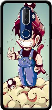 Goku-mario Case for Alcatel 3V