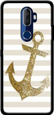 Gold Mariniere Case for Alcatel 3V