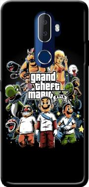 Grand Theft Mario Case for Alcatel 3V