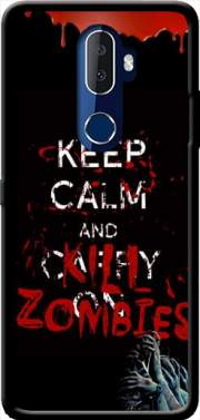 Keep Calm And Kill Zombies Case for Alcatel 3V