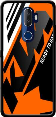 KTM Racing Orange And Black Case for Alcatel 3V