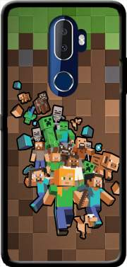Minecraft Creeper Forest Case for Alcatel 3V