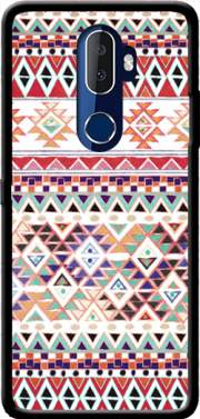 Red Native Bandana Aztec Case for Alcatel 3V