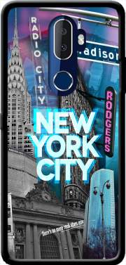 New York City II [blue] Case for Alcatel 3V