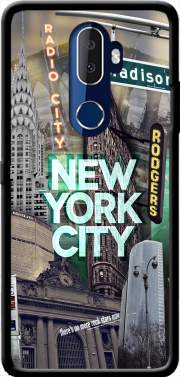New York City II [green] Case for Alcatel 3V