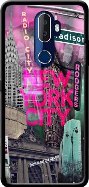 New York City II [pink] Case for Alcatel 3V
