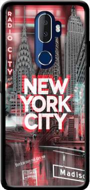 New York City II [red] Case for Alcatel 3V