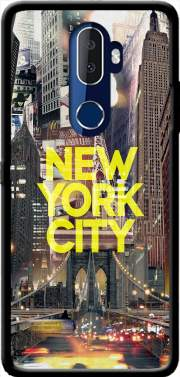New York City II [yellow] Case for Alcatel 3V