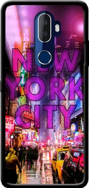 New York City - Broadway Color Case for Alcatel 3V