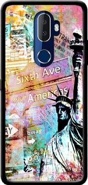 New York Liberty Case for Alcatel 3V