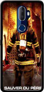 Save or perish Firemen fire soldiers Case for Alcatel 3V
