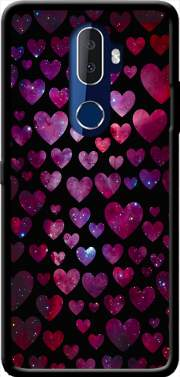 Space Hearts Case for Alcatel 3V