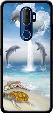 The Heart Of The Dolphins Case for Alcatel 3V