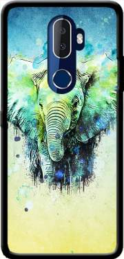 watercolor elephant Case for Alcatel 3V