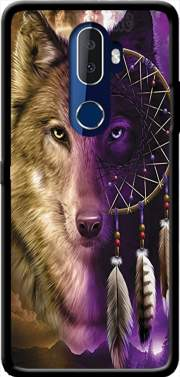 Wolf Dreamcatcher Alcatel 3V Case