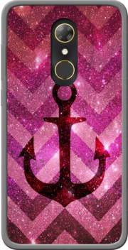Anchor Chevron Red Case for Alcatel A7