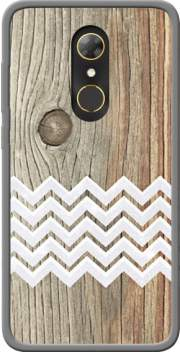 Chevron on wood Case for Alcatel A7