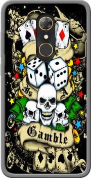 Love Gamble And Poker Case for Alcatel A7