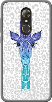 Giraffe Purple Case for Alcatel A7
