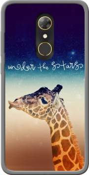 Giraffe Love - Right Case for Alcatel A7