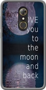 I love you to the moon and back Case for Alcatel A7