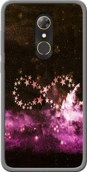 Infinity Stars purple Case for Alcatel A7